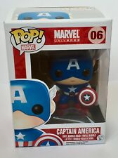 Marvel Captain America 06 Funko Pop Vinyl Bobble-head
