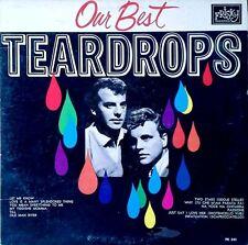 TEARDROPS (TONY & PAUL) - OUR BEST - FRISKY LP (KEARNY, NJ) - PRIVATE PRESS -'66