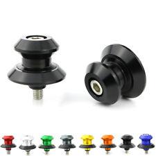 POUR YAMAHA TZR250 YZF750 YZF1000 1 Paire CNC vis curseurs bras oscillant bobines Noir