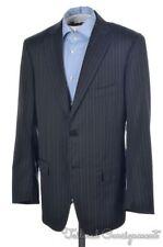 ISAIA Recent Base S Gray Striped 100% Wool Blazer Sport Coat - EU 52 / US 42 R