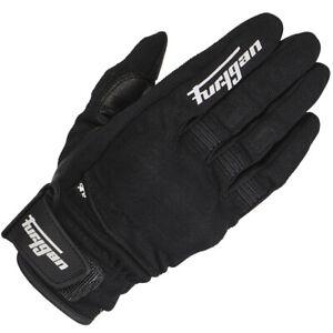 Furygan Jet D30 Textil/Leder Kurze Stulpe Motorrad Touchscreen Handschuhe