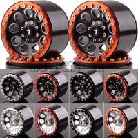 """4P Aluminum 2.2"""" Beadlock Wheel Rim 2020 FOR RC Rock Crawler Axial Traxxas HPI"""