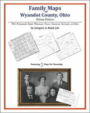 Family Maps Wyandot County Ohio Genealogy Plat History