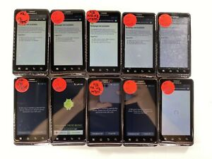 Lot of 10 Mototrola Droid Bionic XT875 Verizon *Check IMEI*