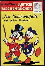 Walt Disneys Lustige Taschenbücher Nr.1 von 1971 Der Kolumbusfalter - TOP Z1