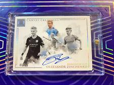 2019-20 Panini Impeccable Soccer Oleksandr Zinchenko Canvas Creations Auto 06/25
