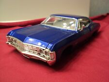 Jada 1967 Chevrolet Impala SS  1:24 Scale scratch & dent sold as -is blue
