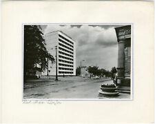 Gotha, Karl-Marx-Straße, Orig. Silbergelatine- Foto um 1975