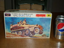 WW#2, GERMAN, Sd. Kfz. 250/3 ARMOURED CAR, Model MOVES BY CLOCK WORK,Scale 1/40