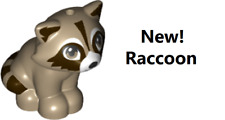 Lego Animal RACCOON Forest Wild Mini Doll Friend Pet Rescue Minidoll Character