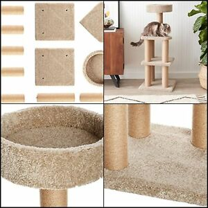 Cat Tree with Scratching Posts - Large
