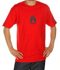 Nixon Wings Short Sleeve Tee T-Shirt (L) Red/Black *New* Large