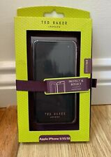 Ted Baker mirror Folio Case for iPhone 5 5S SE Black cover