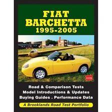 FIAT Barchetta 1995-2005 strada Prova Portafoglio BOOK LIBRO AUTO