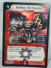 Duel masters Rare ROTHUS, THE TRAVELLER foil Card
