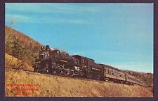 Lmh Postcard Green Mountain Railroad 4-6-2 Gmrc #1246 ex Canadian Pacific 1970s