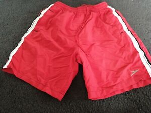 Excellent Speedo Swim Shorts  Red  Medium