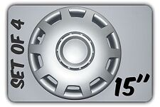 """SET OF 4 15"""" WHEEL TRIMS TO FIT VOLVO S40, V40 + FREE GIFT #6"""