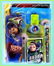 Disney Toy Story 3 School Set 11pc PENCIL POUCH SHARPENER ERASER RULER +++
