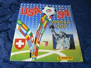 RARE USA 1994 WORLD CUP COUPE DU MONDE FOOTBALL PANINI ALBUM IMAGES CATALOGUE