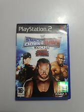 SmackDown vs RAW 2008 PlayStation 2 (ps2) PAL España COMPLETO