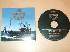 The Rumble Strips - Hate Me You Do (CD) 2 Tracks - Ex Cond - Fast Postage - Rare