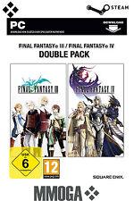 Final Fantasy III / Final Fantasy IV - Double Pack Key - [STEAM] [NEU] [DE] [PC]