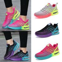 Womens Tennis Shoes Air Cushion Breathable Running Athletic Sports Sneaker Shoes