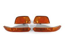 4PCS COMBO DEPO JDM Amber Corner + Bumper Signal Lights For 92-93 Honda Accord