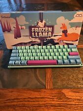 Ducky x MK Frozen Llama Mecha Mini RGB 60% DS PBT KEYBOARD Cherry MX RED