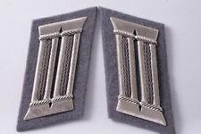 East German DDR NVA Army Aviator Pilot Badge Higher Metal Rank Collar Tab Board