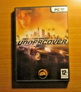 Need For Speed Undercover EA DVD for PC