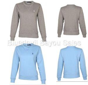 Polo Ralph Lauren Women's Soft Fleece Pullover Sweatshirt