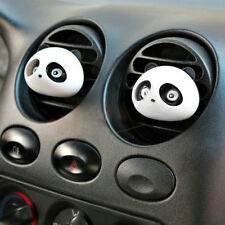 2PCS Panda Car Perfume Air Freshener Auto Detailing Accessories For Car Vehicle