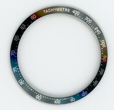 Black Bezel Insert to Fit Tag Heuer Carrera CV2010-BK-A  Replacement