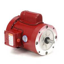Leeson 110493.00 Electric Motor 3/4 HP 1725 Rpm 1-PH 115/208-230 V 56C Frame