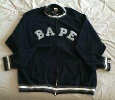 A Bathing Ape BAPE Vintage Zip Front Sweatshirt Shirt XXL RARE bapesta nice !