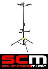 HERCULES GS432B TRIPLE GUITAR 3 TRI STAND AUTO GRAB SYSTEM ADJUSTABLE BACKRESTS