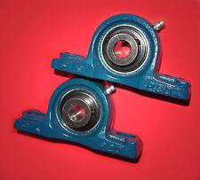 2 Gehäuselager / Stehlager / Stehlagereinheit UCP 207 / 35 mm Wellendurchmesser