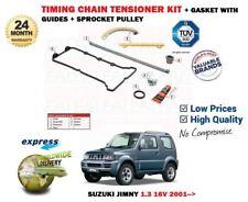 für Suzuki Jimny 1.3 16V SN413 2001- > NEU Steuerkette Spannrolle + Hilfe Satz
