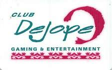 Club Dejope - Madison, Wi - Slot Card with masked out phone#