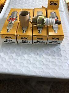 NGK Nickel Resistor Spark Plugs BMR6A (4plugs)  Briggs Stratton Techumseh