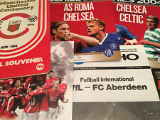 More details for friendly/testimonial match day football programmes *choose from list*