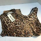 New Nwt Beautiful Sexy Sleeveless Leopard Body Suit