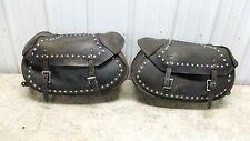 00 Kawasaki VN 1500 VN1500 N Vulcan saddlebags saddle bags leather right left