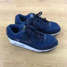 Nike Air Max 90 Essential Blue White Trainers Sneakers Size UK 6 95 97 98