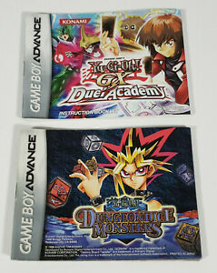 Yu-Gi-Oh Dungeon Dice Monsters & Duel Academy Gameboy Advance Instruction Manual