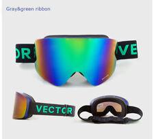 Ski glasses TPU,green ribbon brand new  techtongda