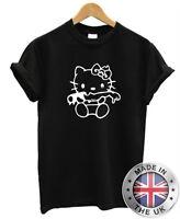 Hello Zombie Camiseta S-Xxl Hombre Mujer Kitty