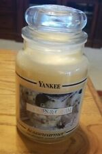 NEW Yankee Candle 22oz RETIRED Cookies & Cream Large Jar Candle
